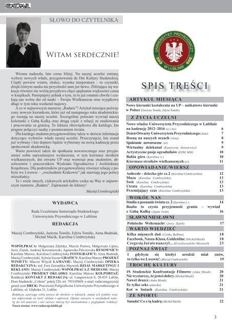 Styczeå Marzec 2012 Strona Gåã³wna Lublin