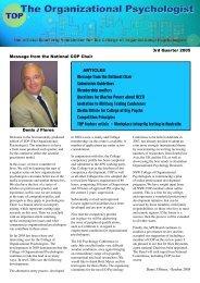 TOP - September 2005 - APS Member Groups - Australian ...