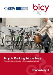 Bicycle Parking Made Easy www.bicy.it