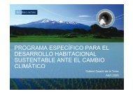 Programa de Vivienda Sustentable