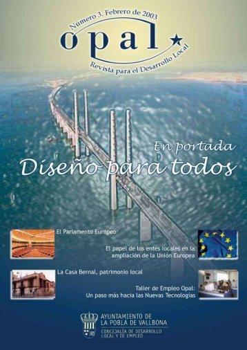 Revista Opal 3 - Ajuntament de La Pobla de Vallbona