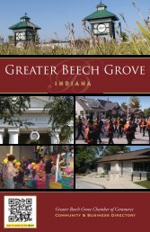 Beech Grove Regional Map - Countywide Guides & Maps