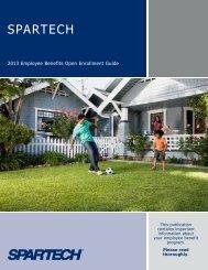2013 Benefits Newsletter - Spartech Corporation