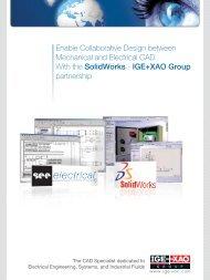 Enable Collaborative Design between Mechanical and ... - IGE+XAO