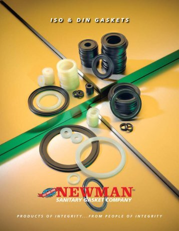 ISO & DIN GASKETS - Newman Sanitary Gasket Company