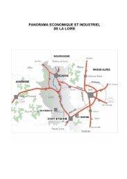 Panorama économique et industriel de la Loire - Atelier de projets ...