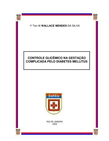 controle glicêmico na gestação complicada pelo diabetes mellitus