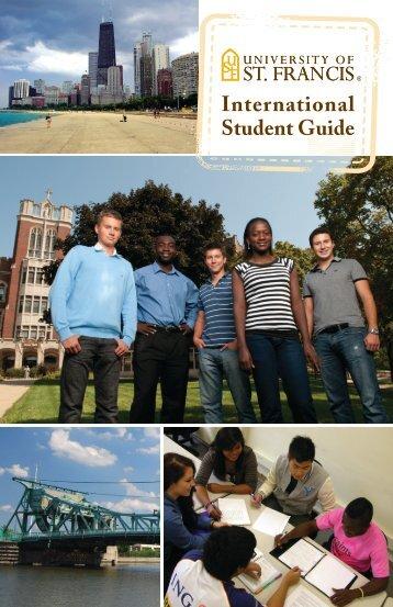 International Brochure - University of St. Francis