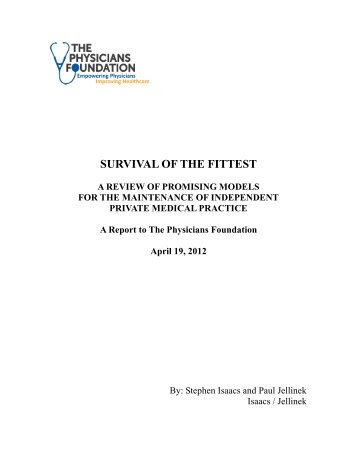 Survival of the Fittest: A Review of Promising Models