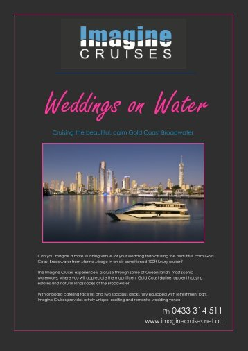Weddings On Water