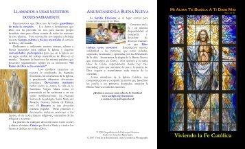 Viviendo la Fe Católica - Archdiocese of Galveston-Houston