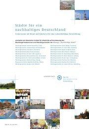 Städte für ein nachhaltiges Deutschland - Rat für Nachhaltige ...