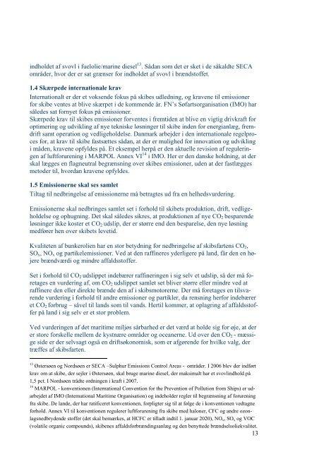 Maritim energi- og miljøteknologi som spidskompetence
