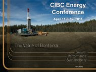 AGM Meeting May 2008 - Bonterra Energy Corp.