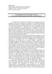 Le développement du vote électronique en France - Informatique et ...