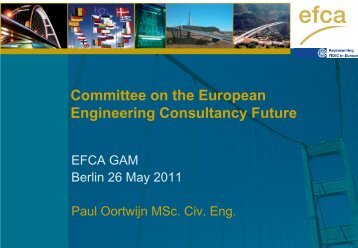 A vision for the European Consulting Future - Efca