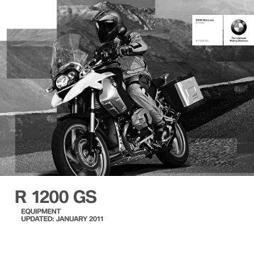 r 1200 gs equipment updated - BMW Motorrad