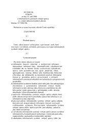 365/2000 Sb. ZÁKON ze dne 14. září 2000 o informačních ...