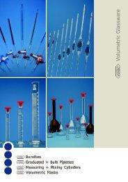 Volumetric Glassware - Bacto Laboratories