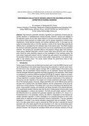 PERFORMANCE EVALUATION OF ANTENNA ARRAYS FOR HIGH ...
