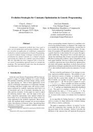 Evolution Strategies for Constants Optimization in Genetic ...