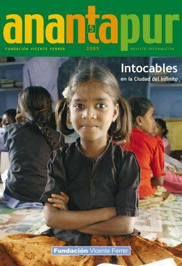 Intocables en la Ciudad del Infinito - Fundación Vicente Ferrer