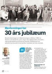 30 års jubilæum - Øjenforeningen Værn om Synet