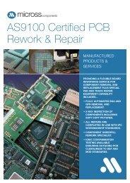 Micross PCB Rework and Repair