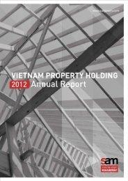 VPH Annual Report 2012 - Saigon Asset Management