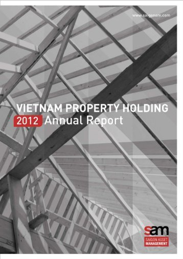 VPH Annual Report 2012 - Saigon Asset Management