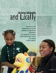 Acting Globally, And Locally - UMKC School of Dentistry