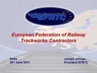 Jo Urlings, EFRTC - Unife