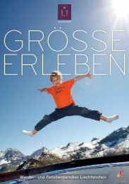 Wander- und Familienparadies Liechtenstein