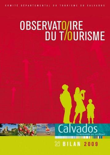 Bilan touristique 2009