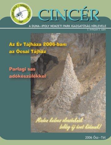 2006 OszTel.pdf - Duna-Ipoly Nemzeti Park - Nemzeti Park ...