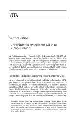 A tisztánlátás érdekében: Mi is az európai unió? - Politikatudományi ...