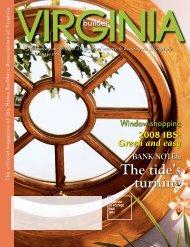 April 2008 - Home Builders Association of Virginia