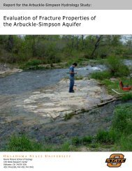 Evaluation of Fracture Properties of the Arbuckle-Simpson Aquifer