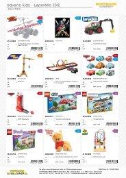 advenz-kidz - Leporello 2012 - Hoffmann Spielwaren Kundenlogin