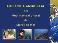 Presentació - Ajuntament de Lloret de Mar