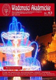 Nr 43 Grudzień 2011 - Biblioteka Główna Akademii Medycznej w ...