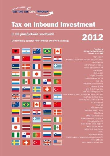 Tax on Inbound Investment - Boga & Associates, Homepage