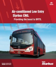 Starbus Low Entry AC City Bus - Buses - Tata Motors