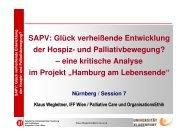Vortrag Klaus Wegleitner - End-Of-Life-Care