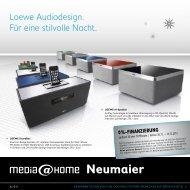 Loewe Audiodesign. Für eine stilvolle Nacht. - Elektro Neumaier