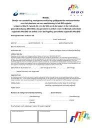 Model Werkgeversverklaring Gelijkgestelde ... - BIG-register