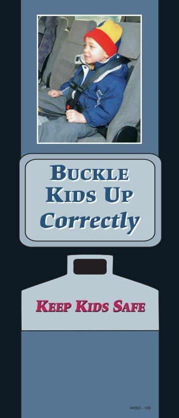 Buckle Kids Up Safely