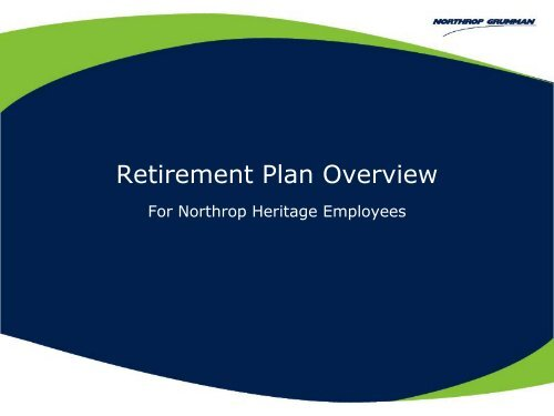 Heritage NOC Pension information