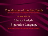 The Masque of the Red Death by Edgar Allen Poe - jflaherty1 ...