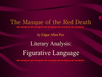 analysis the masque of the red Check your understanding of poe's 'the masque of the red death' with an interactive quiz and printable worksheet these tools will help you study.